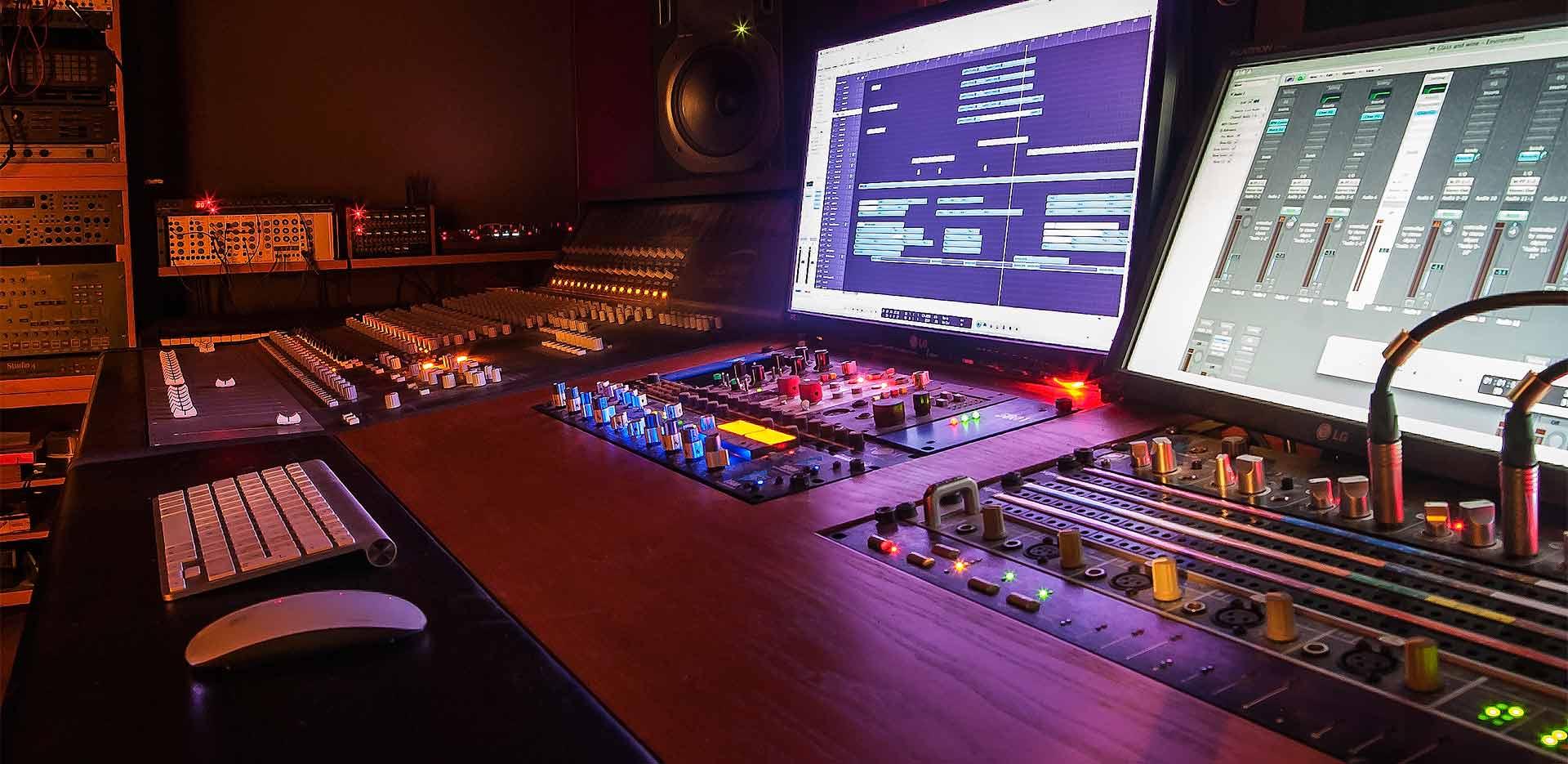recording studio Soundcheck Milano