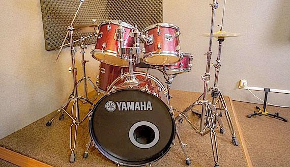 Batteria Yamaha Gigmaker sala prova milano