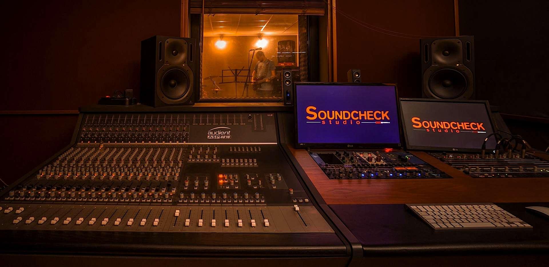 Regia recording studio Milano Soundcheck
