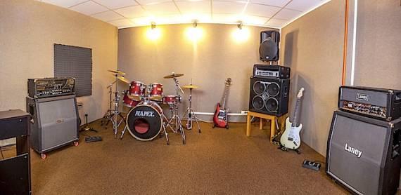 Sala Prove Milano Ampli chitarra testata valvolare Laney VH100R